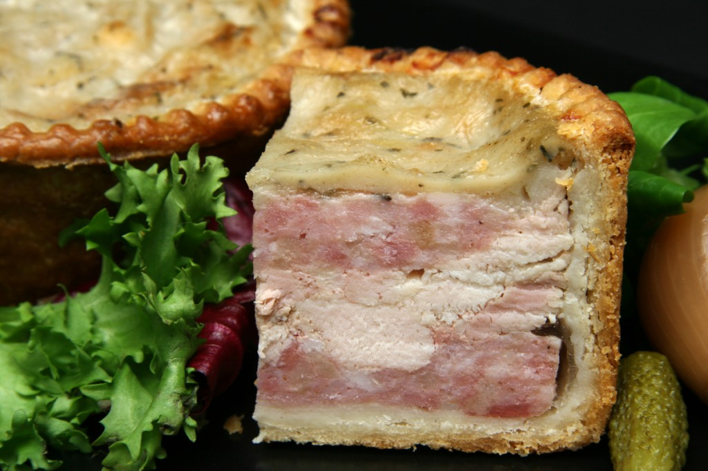 Pork, Chicken and Stuffing Pie