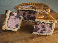 Large Pork and Black Pudding Pie
