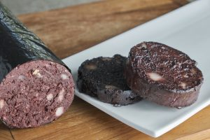 Sliced Black Pudding